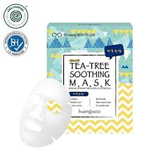 Huangjisoo Mask Tea Tree Soothing 25 ml