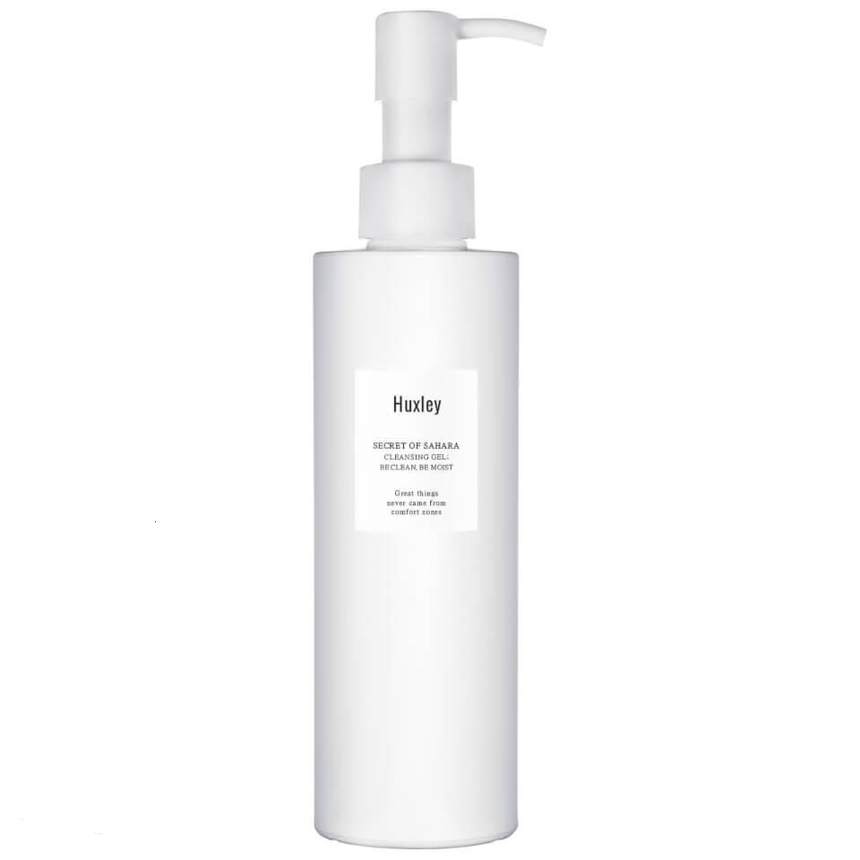 HUXLEY CLEANSING GEL ; BE CLEAN, BE MOIST